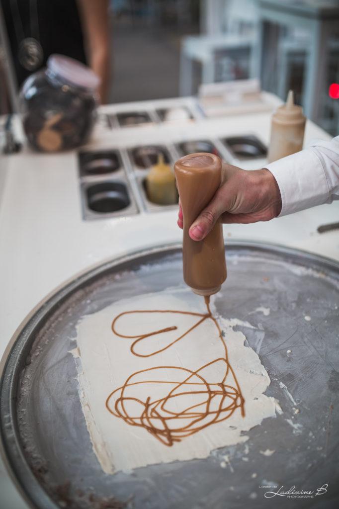 préparation bûches glacées anims de freddy